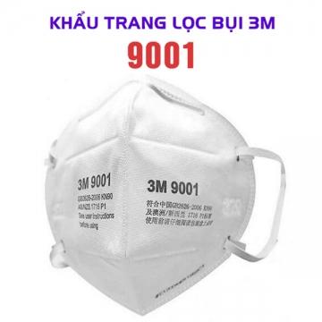 Khẩu trang 3M 9001 chính hãng