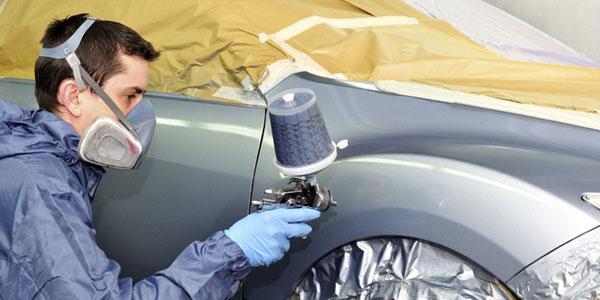 đào tạo kỷ thuật sơn ô tô